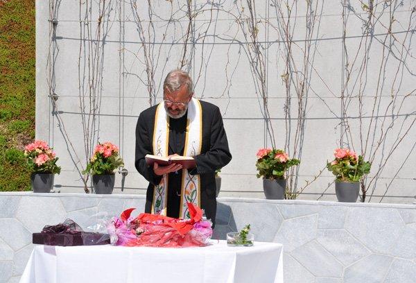 Segnung des Seminarkristall
