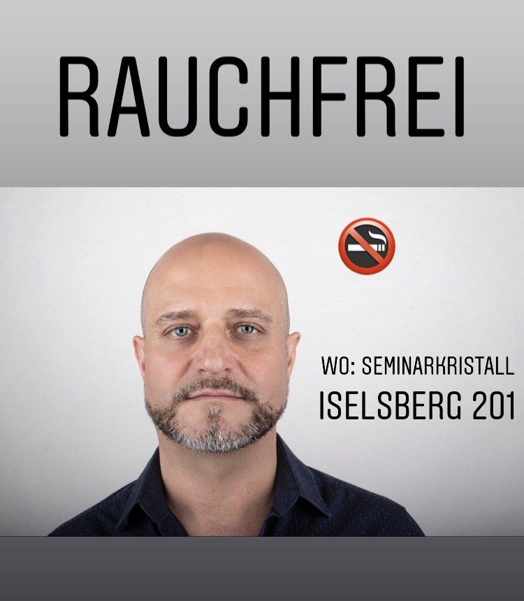Rauchfrei Seminarkristall